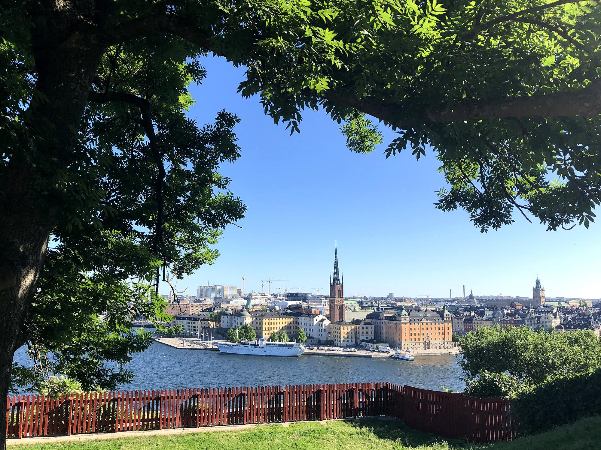 Ivar los park lunch restaurant Stockholm